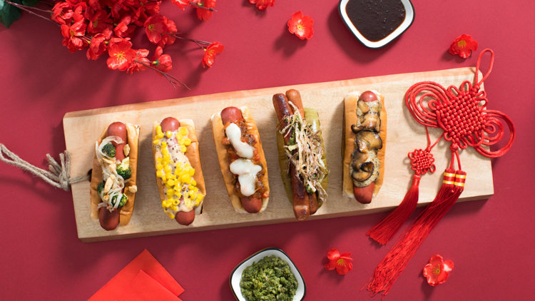 Celebrate the Year of the Hot Dog with these hotdog specials!