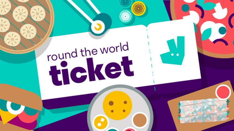 Deliveroo Round the World Ticket