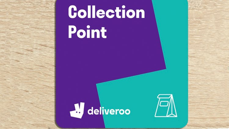 Avoid congestion with food delivery collection points