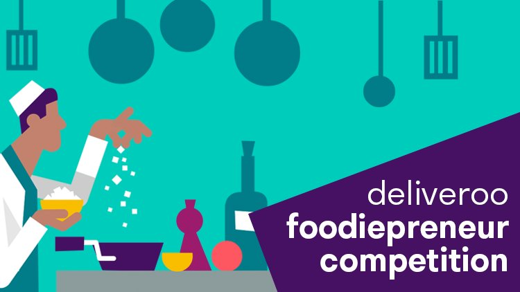 Deliveroo Launches Inaugural Foodiepreneur Competition to Support Aspiring Food Entrepreneurs