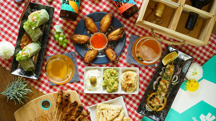 Introducing Deliveroo Editions' Tipsy Tapas
